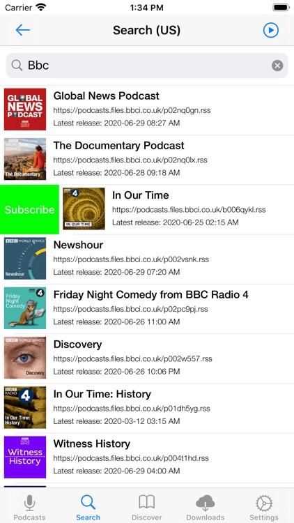 Primecast - A Podcast Player screenshot-4