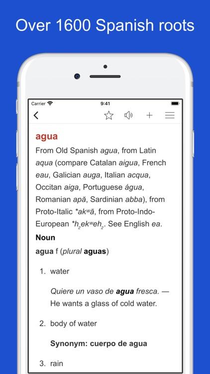 Spanish Word Parts screenshot-7
