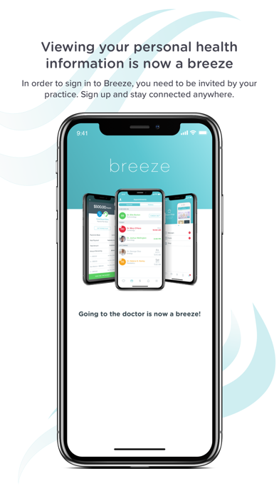 messages.download Breeze for Patients software