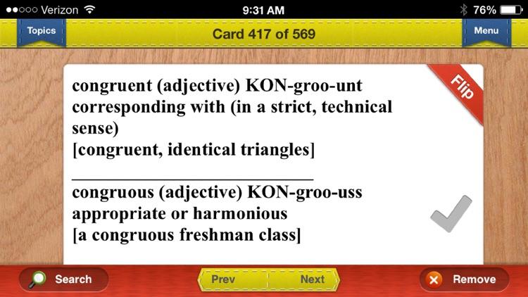LSAT Prep Verbal Flashcards
