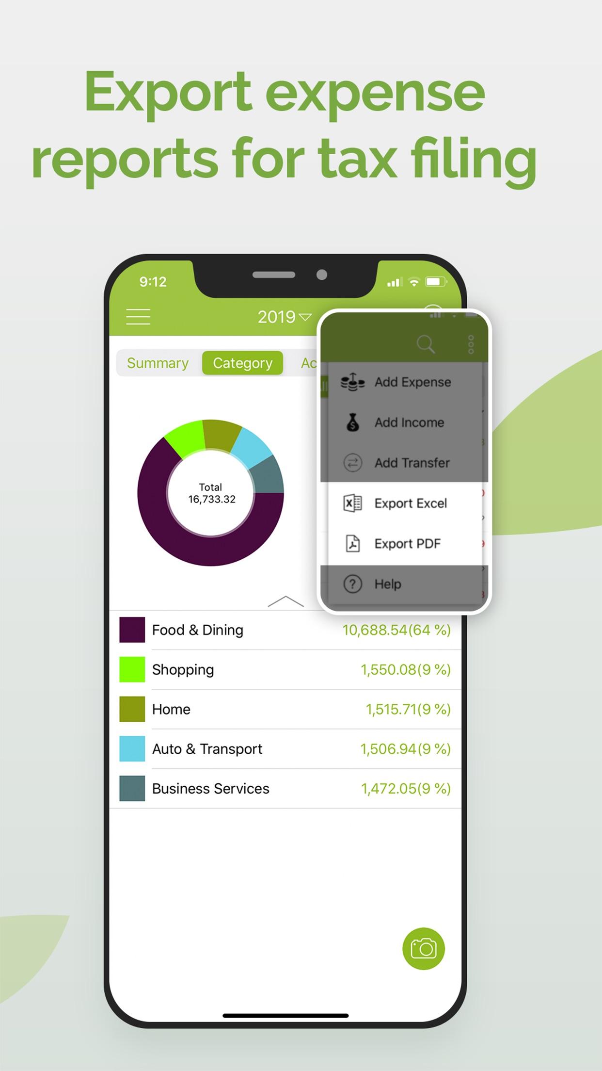 Foreceipt Receipt Tracker App Screenshot