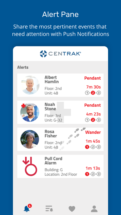 CenTrak TruView Alert Manager 1
