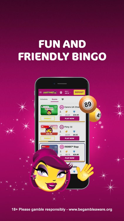Cheeky Bingo - Bingo & Games