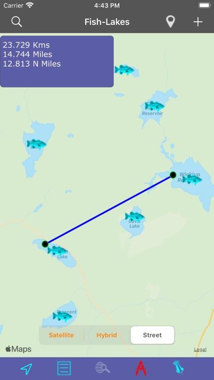 Oregon-CA-WA: Lakes & Fishes screenshot-5