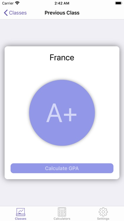 Grade Stats Calculate screenshot-4