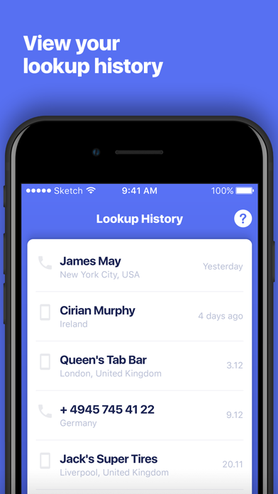 Number Finder: Phone Tracker Screenshot