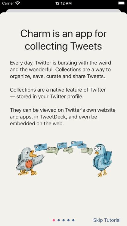 Charm for Twitter