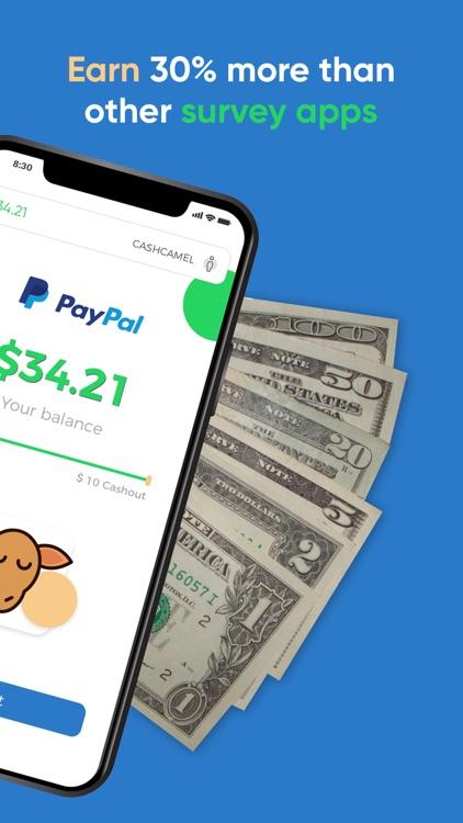 CashCamel - Surveys for Cash screenshot-3