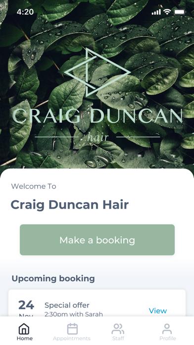 Craig Duncan Hair screenshot 1