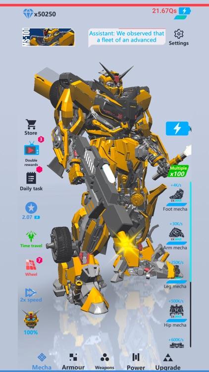 Idle Robot 3D screenshot-5