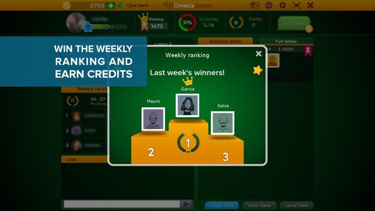 Sueca Multiplayer Game screenshot-6