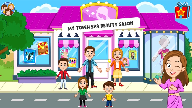 My Town : Beauty Spa Salon screenshot-0