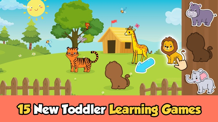 Puzzle games for 2 year olds
