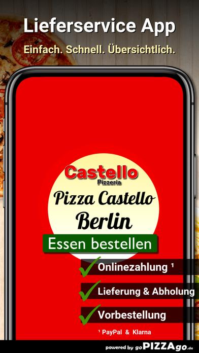 Pizzeria Castello Berlin screenshot 2