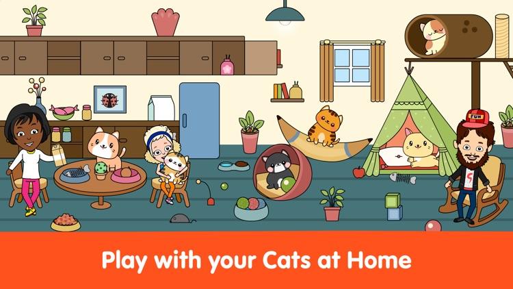 My Cat Town - City Life World