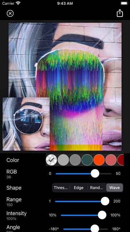 Glitch Fx - Pixel Sorting screenshot-6