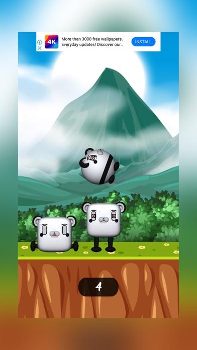 Funny Panda Jumping screenshot 2