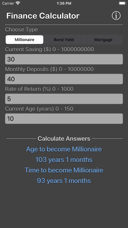 Finance Calculator Plus