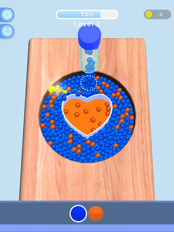 Sorting Beads: Stencil Fill screenshot 5