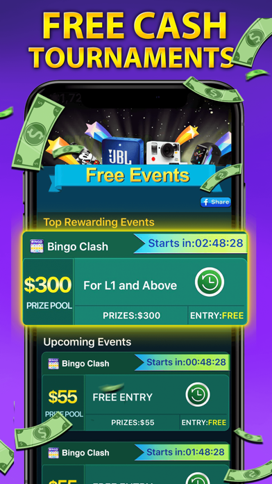 Bingo Clash: Win Real Cash screenshot 3
