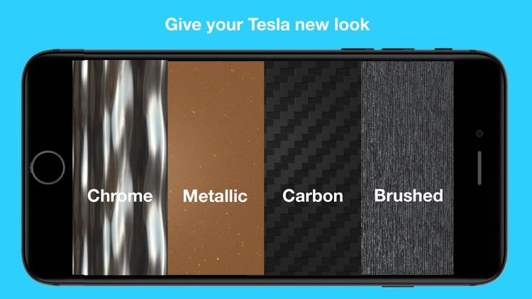 Wrap for Tesla 3D Color Change screenshot-5