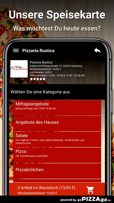 Pizzeria Rustica Heinsberg screenshot 4