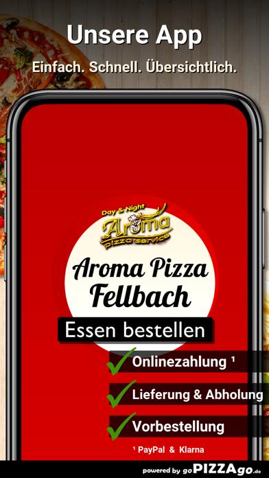 Aroma Pizza Service Fellbach screenshot 1