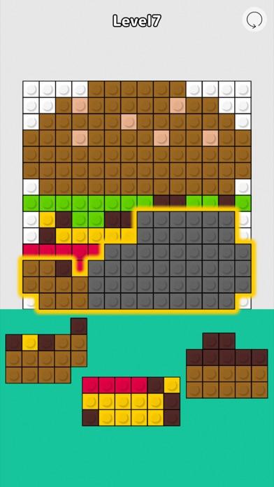 Block Fit Art Puzzle screenshot 3