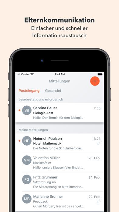 Untis MobileScreenshot von 2
