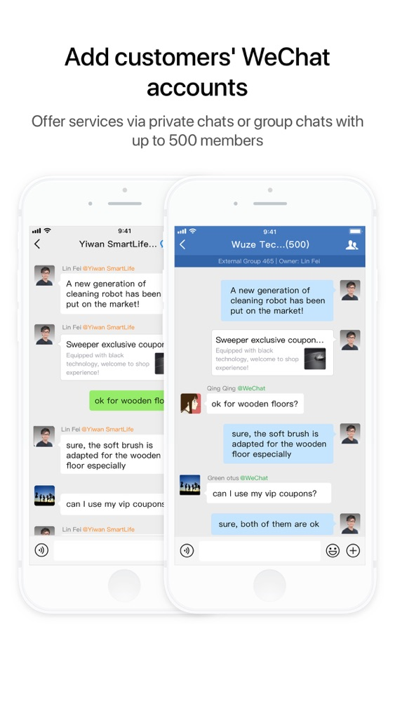 Busy wechat line Yahoo is
