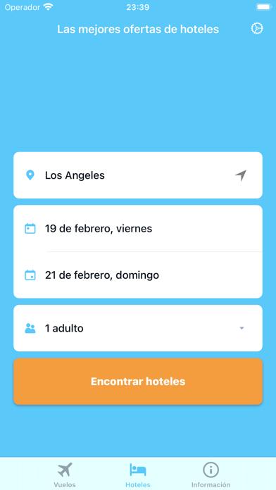 iTraveler - flights and hotelsCaptura de pantalla de5