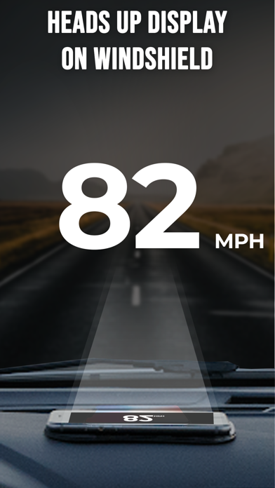 GPS Speedometer App Screenshot