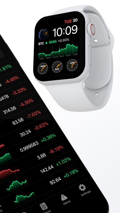 Crypto Pro - Portfolio-TrackerScreenshot von 3