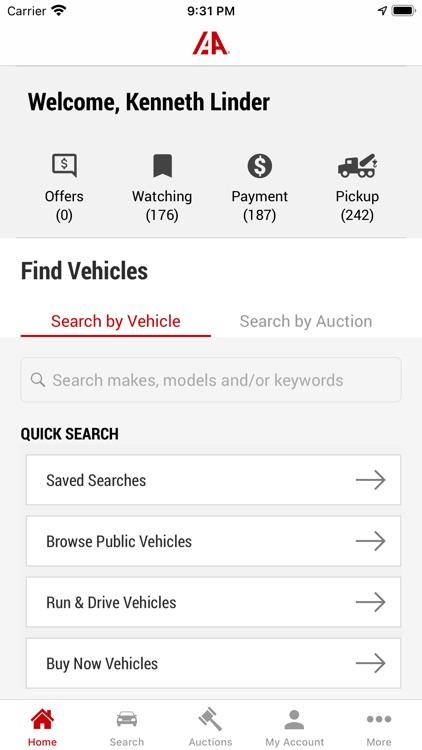 IAA Buyer Salvage Auctions