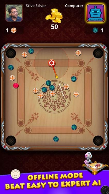 World Of Carrom :3D Board Game screenshot-3