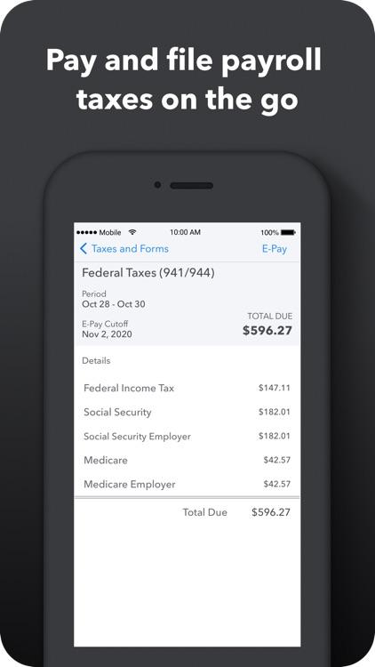 QuickBooks Payroll screenshot-5