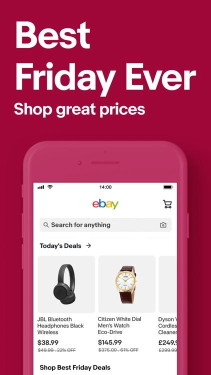 eBay Shopping: Buy, sell, save screenshot-7