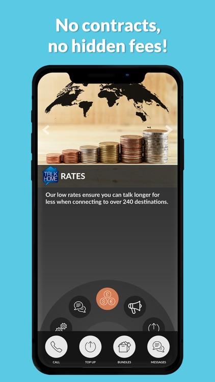 TalkHome International Calling screenshot-3