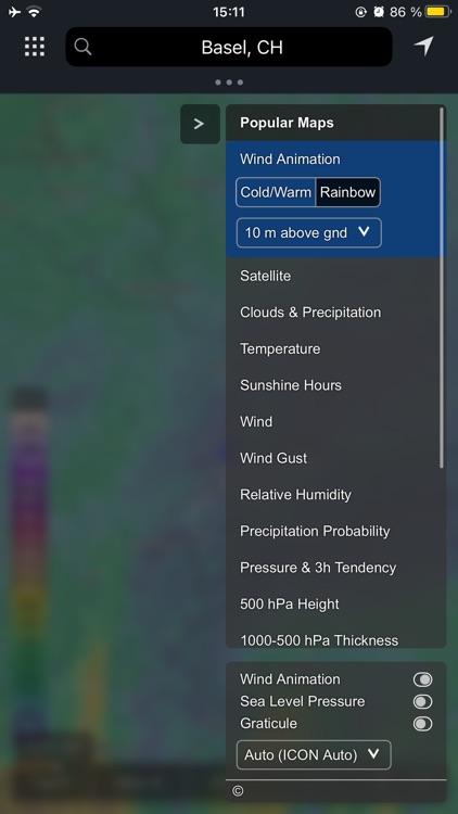 meteoblue weather & maps screenshot-3