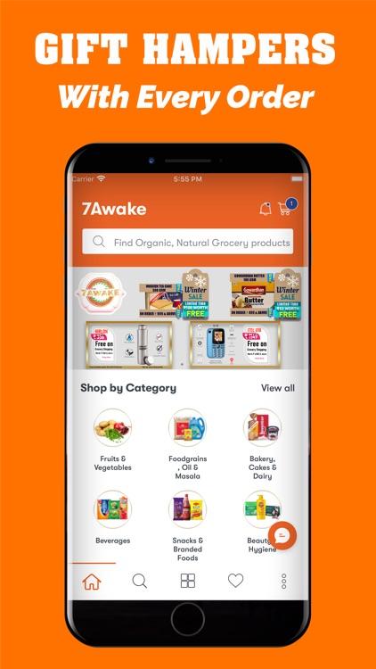 7Awake-Online Grocery Shopping