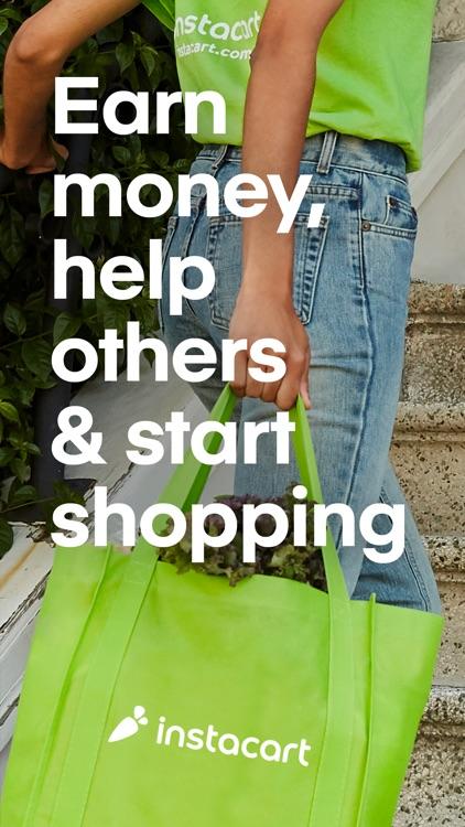 Instacart Shopper: Earn money