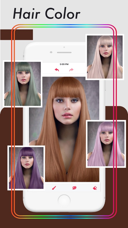 Hair Color Changer .