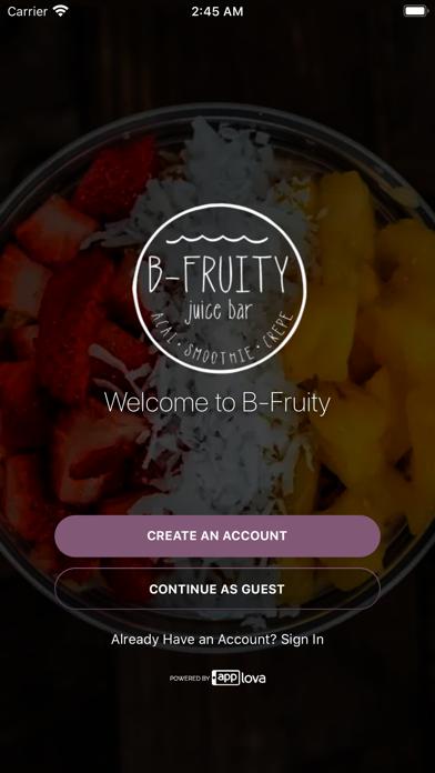 B Fruity screenshot 1