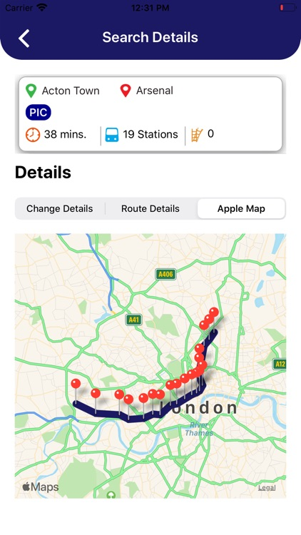 London Tube - Map Pro screenshot-8