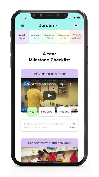 CDC's Milestone TrackerScreenshot of 4