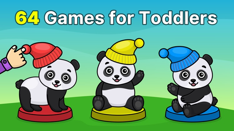 Toddler game for 2-4 year olds screenshot-0