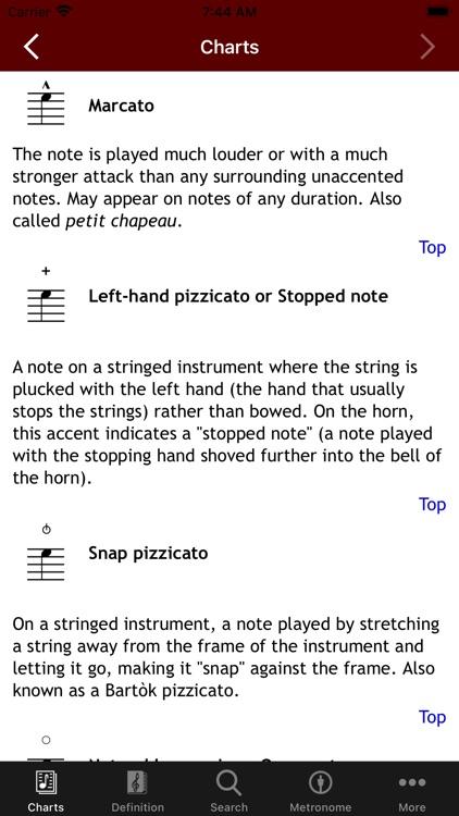 MusicTools Music Dictionary screenshot-5