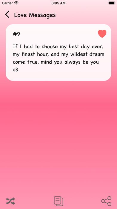 Best Love Messages 2021 Screenshot