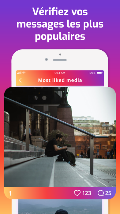 Abonnés rapport pour Instagram