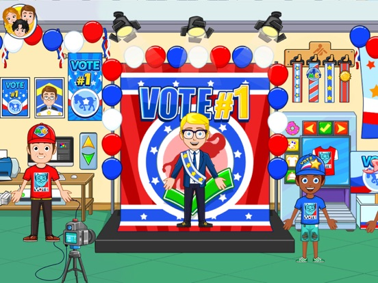My City : Election day screenshot 9
